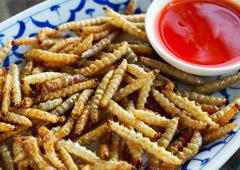 Бамбуковые черви со вкусом попкорна