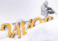 Русская зима посетила Давос