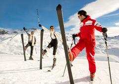 Чем поразить горнолыжника во Франции