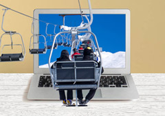Индивидуальные горнолыжные туры ушли в онлайн