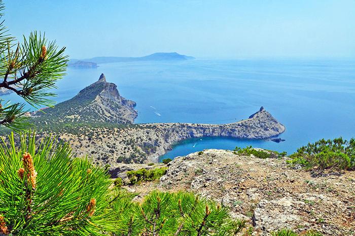 Крым с Запада на Восток